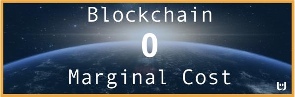 zero marginal cost blockchain